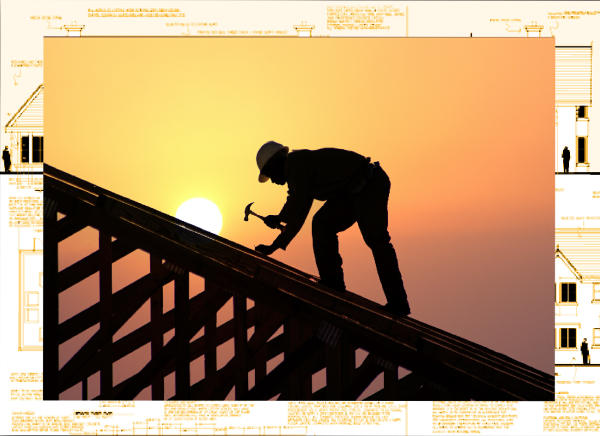 Durban Roofing Contractor Installing a Roof